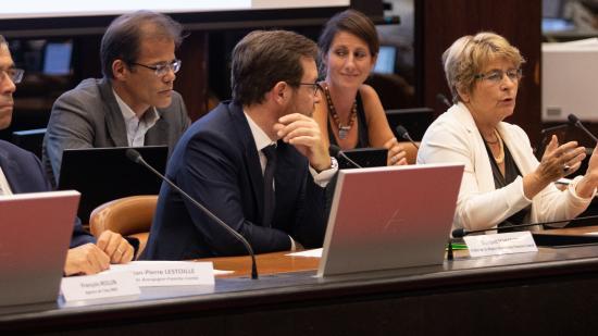 Réunion d'installation du Comité régional de la biodiversité, mardi 11 septembre 2018 à Dijon / Crédit Vincent Arbelet