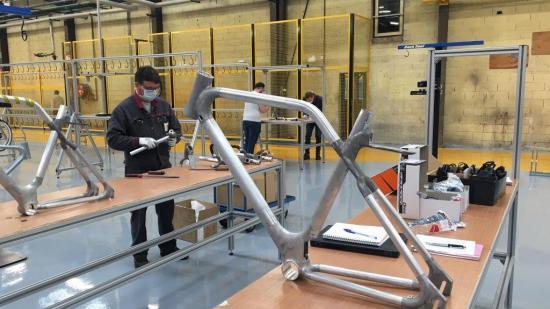 Angell, le smart bike assemblé à À Is-sur-Tille (21) - Photo DR