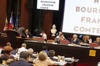 Assemblée plénière du Conseil régional de Bourgogne-Franche-Comté, jeudi 15 novembre 2018 - Crédit Région Bourgogne-Franche-Comté / David Cesbron