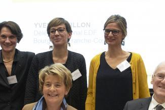 Signature d'une convention liant EDF à la Région Bourgogne-Franche-Comté, jeudi 29 novembre 2018 - Crédit Thomas HAZEBROUCK