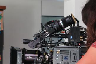 Grâce à un fonds d'aide de 1,4 million d'euros, la Région Bourgogne-Franche-Comté soutient la production cinématographique et l'accueil de tournages - Crédit photo Région Bourgogne-Franche-Comté