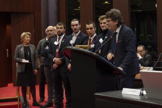 Assemblée plénière du Conseil régional de Bourgogne-Franche-Comté, vendredi 11 octobre 2019 à Dijon