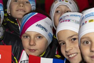 Cérémonie d'ouverture des JOJ 2020 aux Rousses (39), jeudi 9 janvier 2020 -  Crédit photo Région Bourgogne-Franche-Comté / David Cesbron