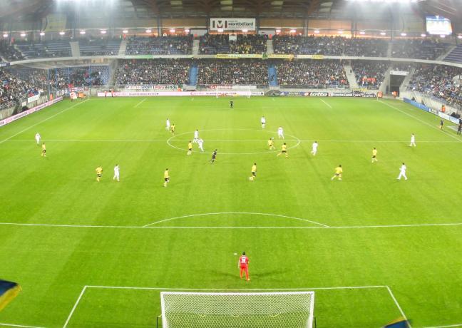 Stade Bonal à Montbéliard (25) / Crédit Renaud Ruhlmann