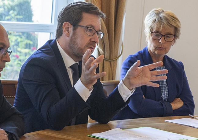 Bilan du Pacte régional d'investissement dans les compétences (PRIC), mardi 3 septembre 2019 à Besançon - Photo David Cesbron Région Bourgogne-Franche-Comté