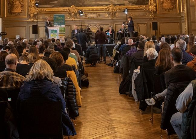 Remise des prix du concours de l'Economie sociale et solidaire 2019. vendredi 29 novembre 2019 à Dijon  - Crédit photo Région Bourgogne-Franche-Comté / David Cesbron