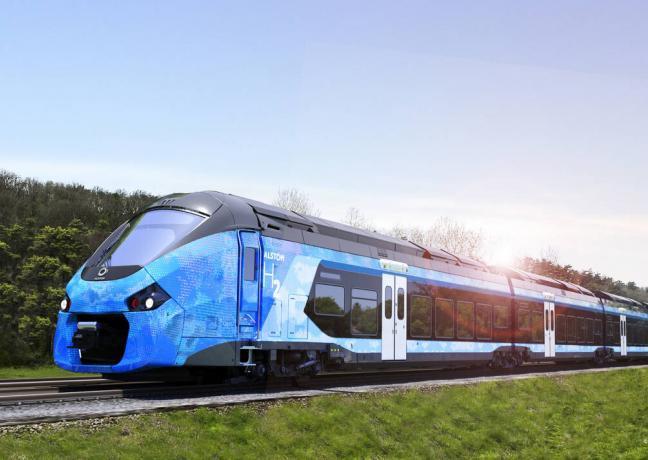 En 2023, des trains fonctionnant pour partie à l'hydrogène rouleront sur la ligne du Morvan - Photo DR