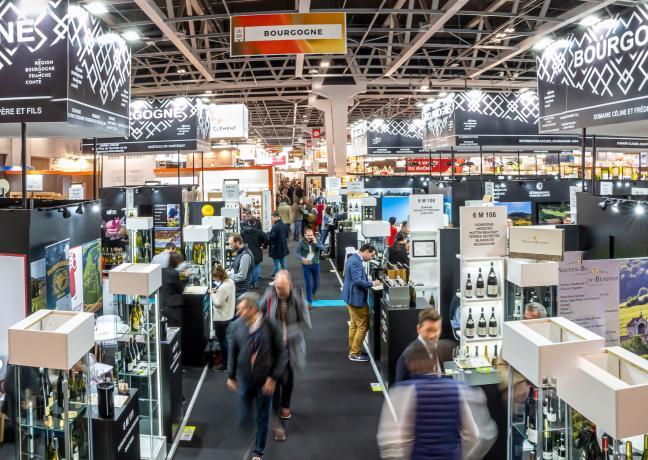 Salon Vinexpo, Paris le 11 février 2020 ©CLAN D'ŒIL