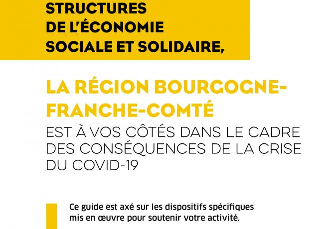 Covid-19 - La région Bourgogne-Franche-Comté aux côtés des structures de l'ESS dans le cadre des conséquences de la crise