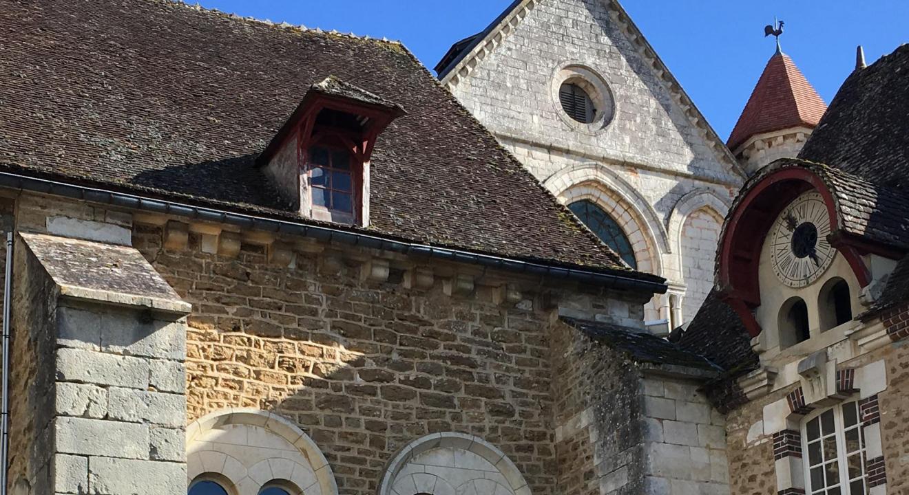 Abbaye de Pontigny, Yonne - DR
