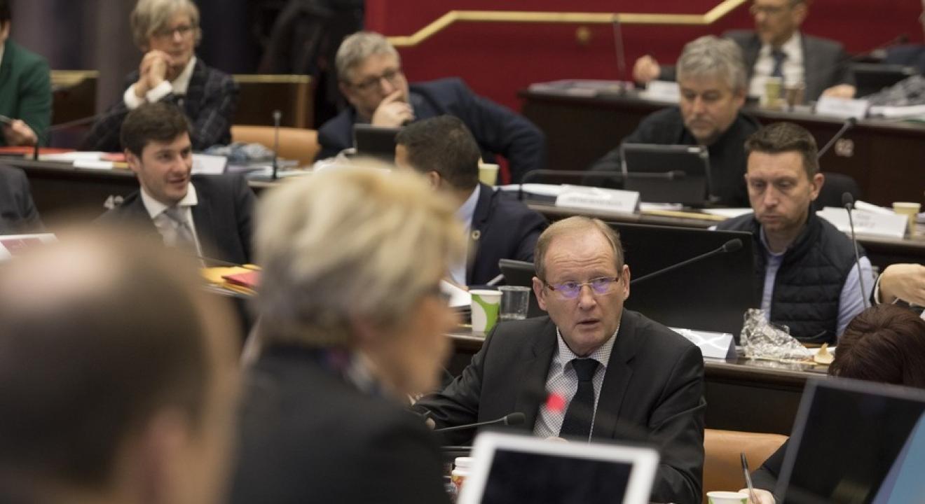 Assemblée plénière du Conseil régional Bourgogne-Franche-Comté - Photo David Cesbron